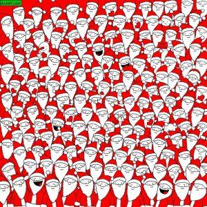 imagen actividad busca objeto navidad