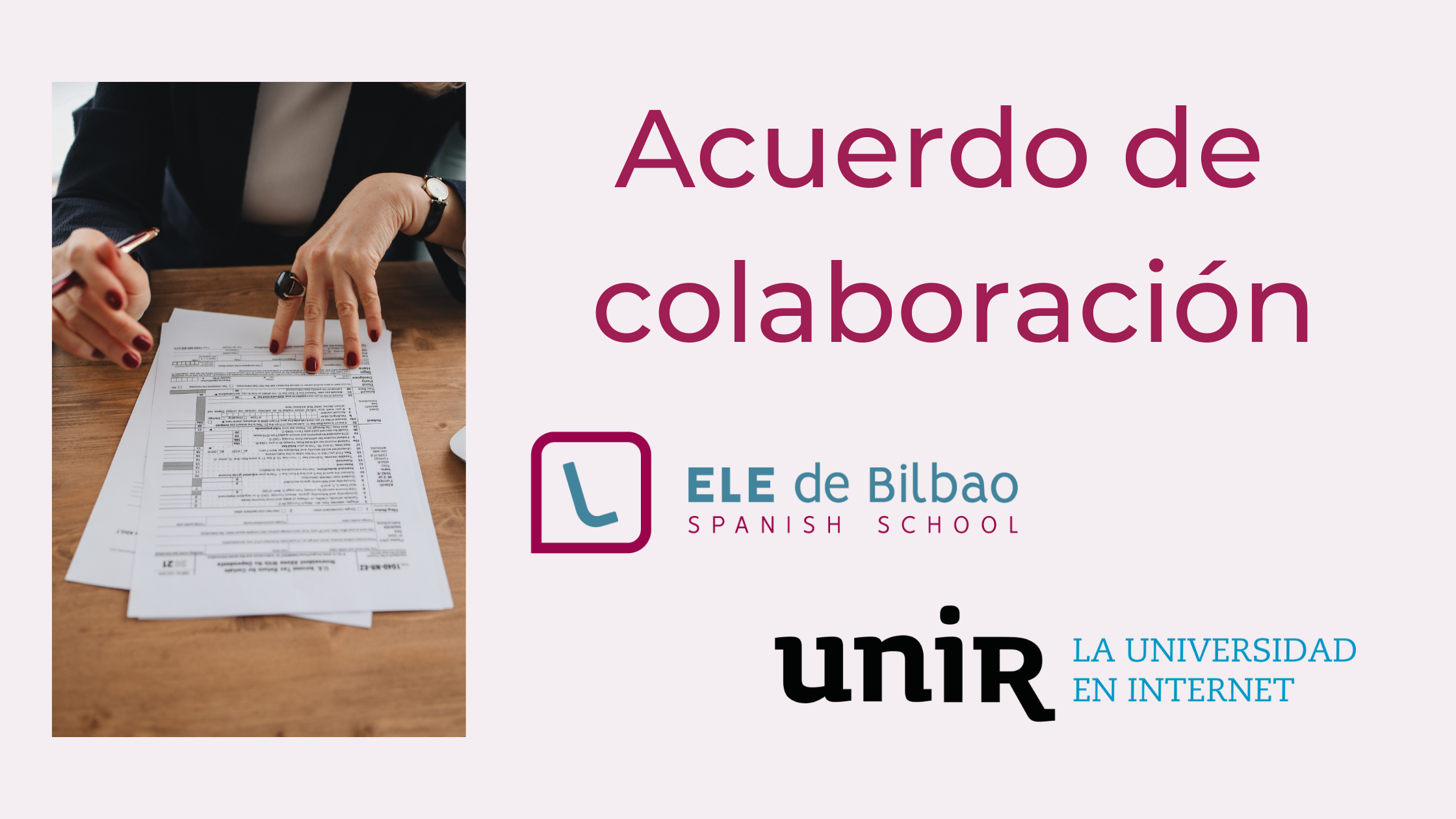 Acuerdo de colaboración prácticas ELE UNIR